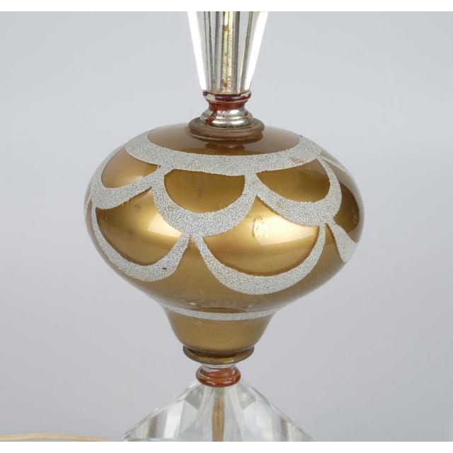Italian Crystal & Marble Table Lamp - Image 6 of 10