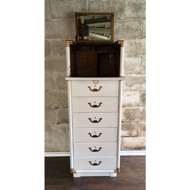 Drexel Accolade Campaign Lingerie Chest - Image 8 of 10