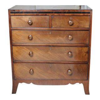 English Chest of Drawers For Sale