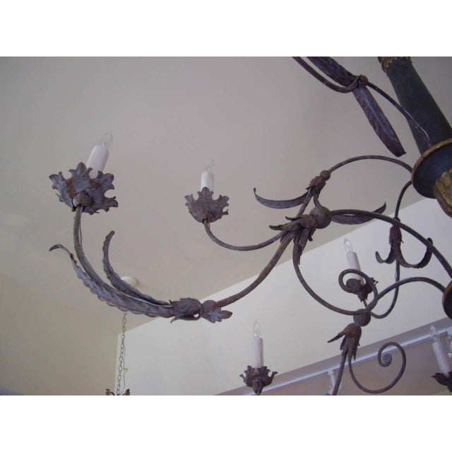 Very Large Late 18th/19th Century Italian Chandelier For Sale - Image 4 of 11