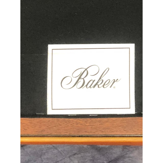 Baker Cocktail Table Ottoman For Sale In West Palm - Image 6 of 7