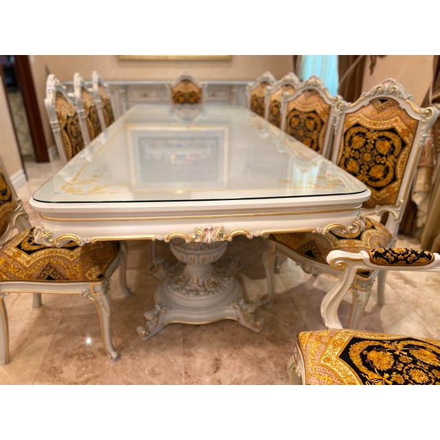 Rococo Rococo Italian Dining Set - 11 Pieces For Sale - Image 3 of 13