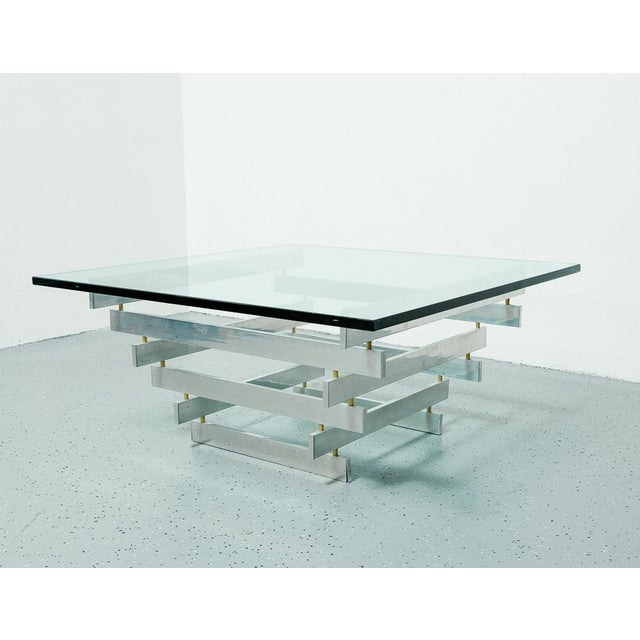 Metal Paul Mayen Coffee Table For Sale - Image 7 of 7