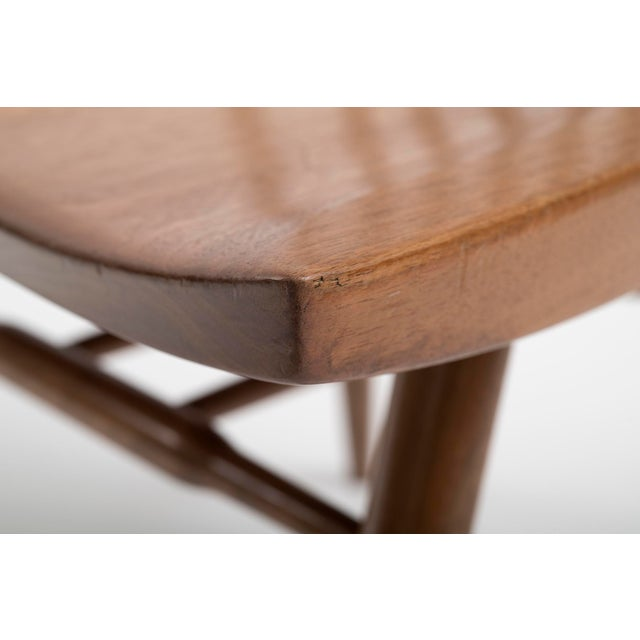 Set of Six Early George Nakashima New Chairs, United States, 1958 For Sale - Image 9 of 13