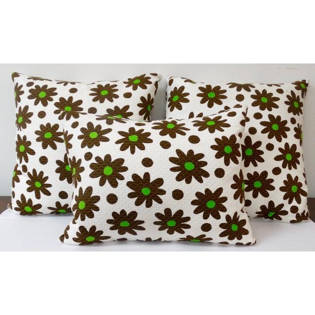 1970's Pop Art Pillows - Set of 3 - Image 2 of 4