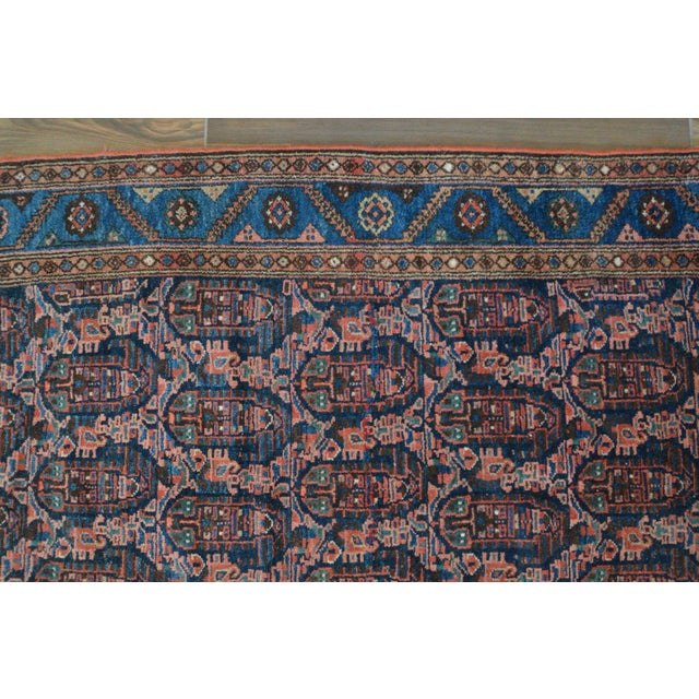 """Paisley Antique Persian Malayer Rug - 3'10"""" X 6'4"""" - Image 5 of 8"""