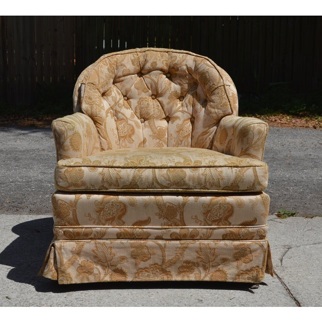 Woodmark Originals Tree of Life Barrel Back Chair - Image 2 of 9