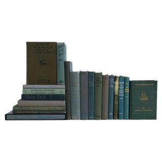 Gulf Coast Nautical Collection, Set of Twenty Decorative Books