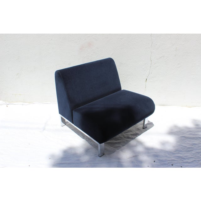 Set of Four Mid-Century Modern Club Chairs For Sale - Image 4 of 13