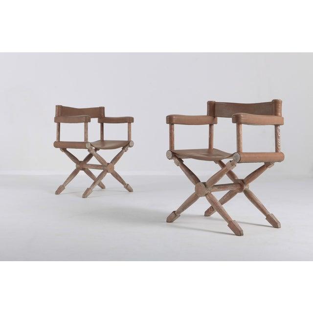 Art Deco Paul Rodocanachi Art Deco 'Rodo' Chairs for Jean-Michel Frank For Sale - Image 3 of 13