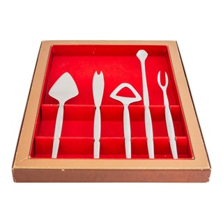 1960s Kalmar Designs Bar Tools Set 5/Pcs For Sale