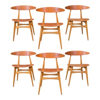 Hans J. Wegner CH33 Dining Chairs For Sale