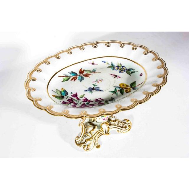 Art Nouveau Antique French Porcelain Serving Piece For Sale - Image 3 of 4