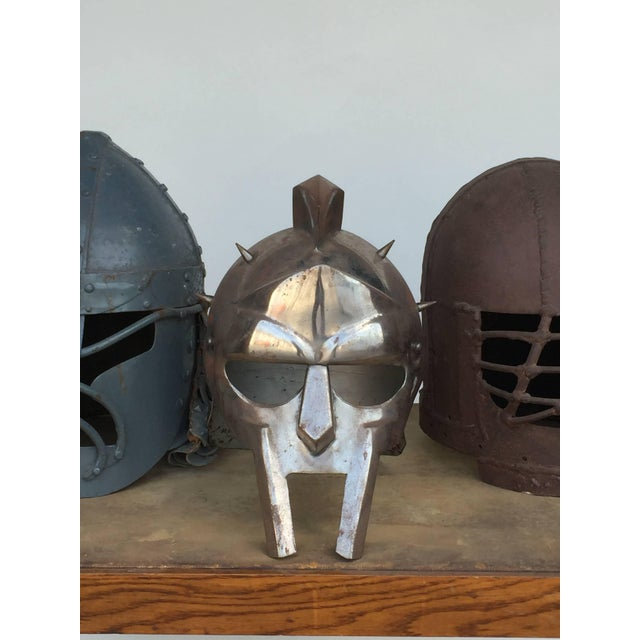 Decorative Collection of Three Movie Prop Masks For Sale - Image 4 of 6