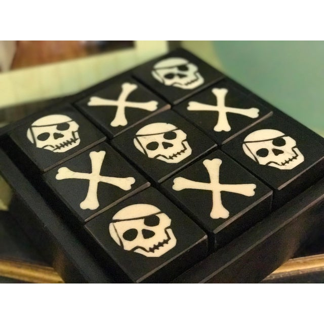 Skull & Bones Tic Tac Toe For Sale - Image 4 of 5