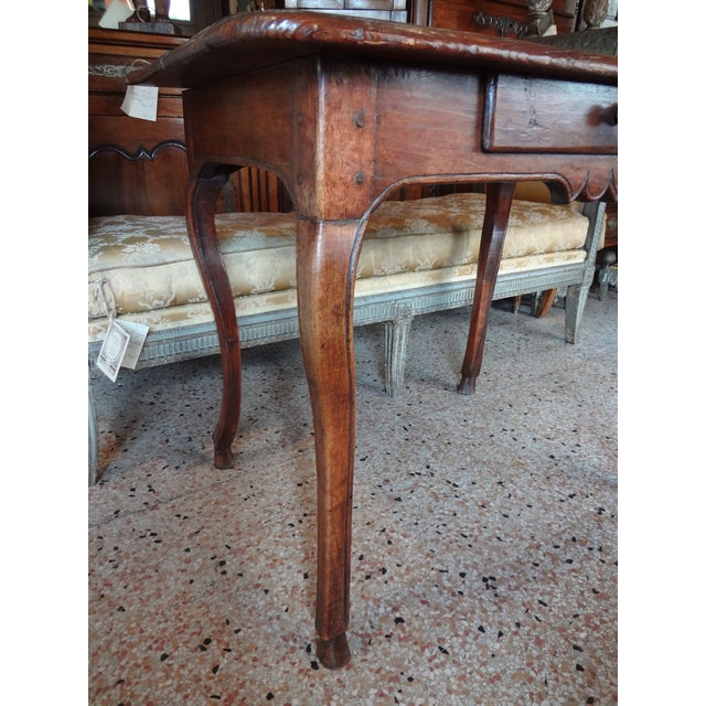 Louis XV Louis XV Walnut Side Table For Sale - Image 3 of 11