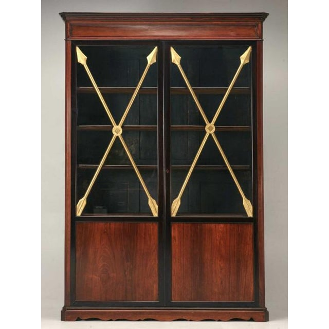 Antique French Directoire Cabinet w/ Arrows For Sale - Image 11 of 11