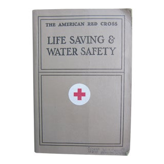 Vintage Red Cross Life Saving & Water Safety Book For Sale