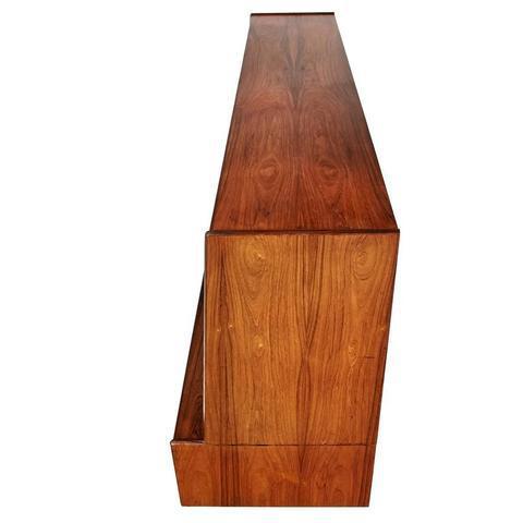 1960s Westergaard Mobelfabrik Danish Rosewood Tall Credenza - Image 2 of 9