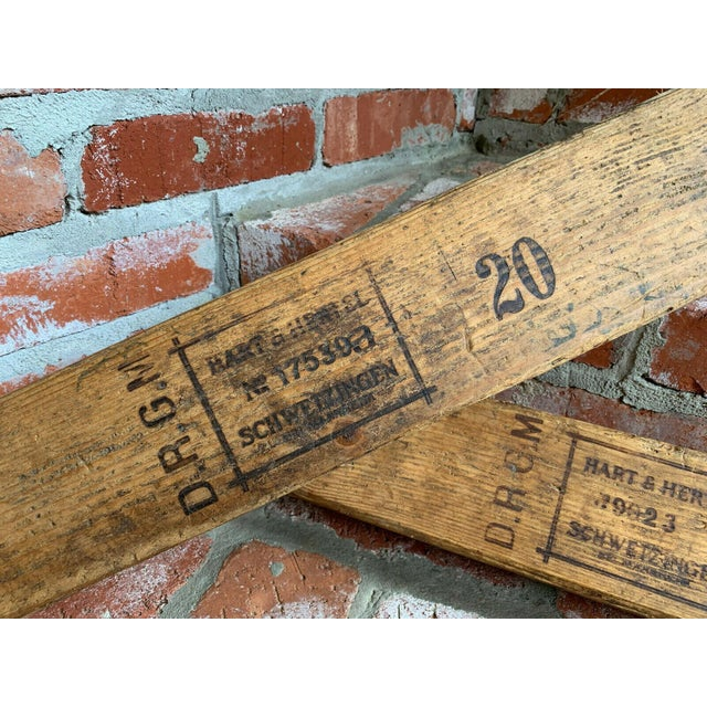 Antique German Wood Cigar Molds - a Pair For Sale - Image 4 of 13