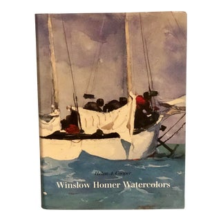 """First Edition 1986 """"Winslow Homer Watercolors"""" Coffee Table Art Book For Sale"""