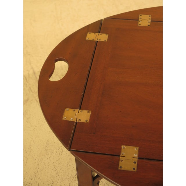 Kittinger Chippendale Mahogany Butler Coffee Table - Image 7 of 11