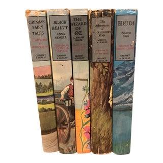 Vintage Children's Books - Set of 5 For Sale