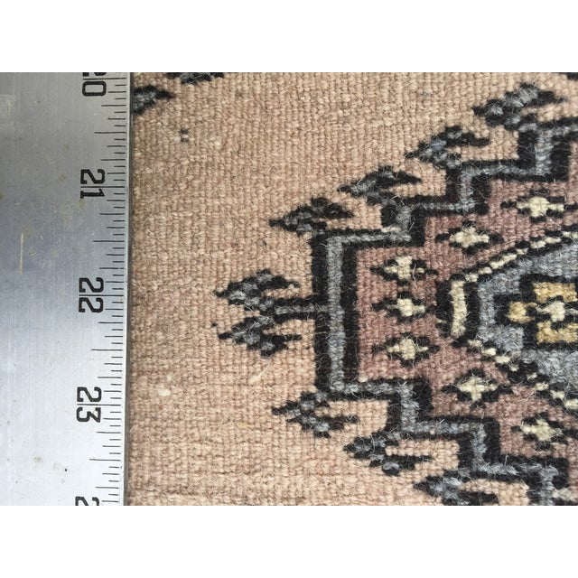 """Pakistani Bokhara Carpet - 10'5"""" X 13'5"""" Beautiful Mint Condition For Sale In Charleston - Image 6 of 9"""