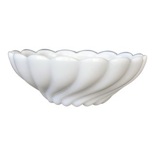 Milk Glass Candy Dish For Sale
