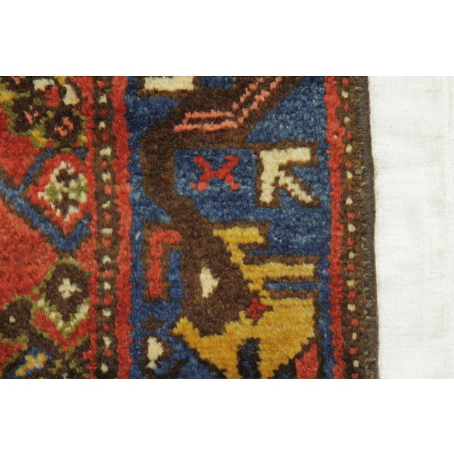 1920s Vintage Persian Malayer Design Rug - 3′5″ × 12′ For Sale In Dallas - Image 6 of 10