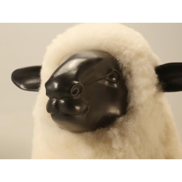 Baby Lamb Hand Made by Old Plank Collection For Sale In Chicago - Image 6 of 11