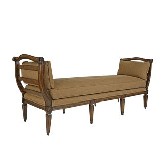 French Normandy Designer Day Bed or Bench For Sale