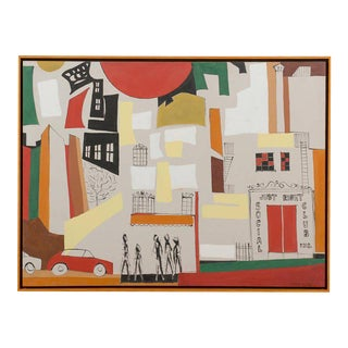 Wonderful Contemporary Painting by Arnold Weber For Sale