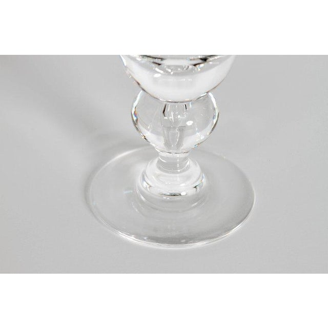 Set of Fifteen (15) Steuben Baluster Water Goblets For Sale In Dallas - Image 6 of 12