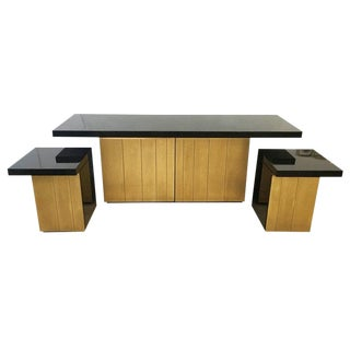 Luciano Frigerio Console/Cabinet Set, Italy, 1960s For Sale