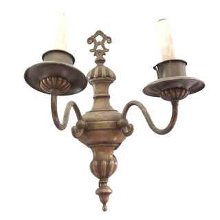 Bronze Regency Style Sconce For Sale