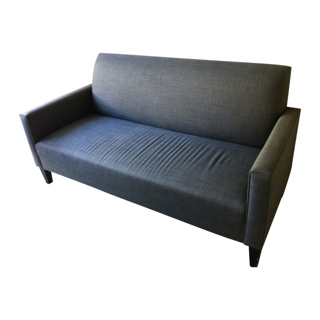 Classic Crate and Barrel Sofa - Image 1 of 3