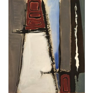 1940-50s Abstract Rectangle Attr. Jerry Opper For Sale
