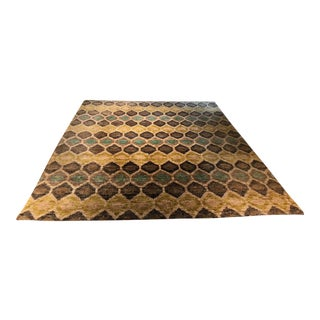 Dash & Albert Prism Hand Knotted Jute Rug - 8′ × 10′ For Sale