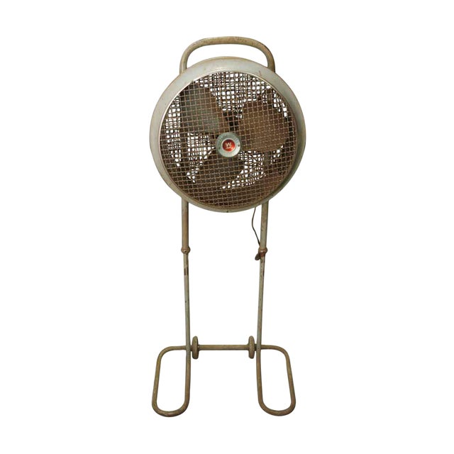Vintage Westing House Industrial Fan For Sale