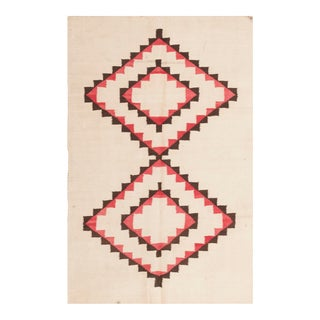 "Antique Navajo Rug 3'0"" X 4'6"" For Sale"