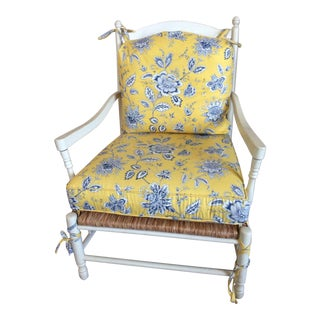 "Thomasville Furniture ""Nantucket"" French Provincial Lounge Armchair"