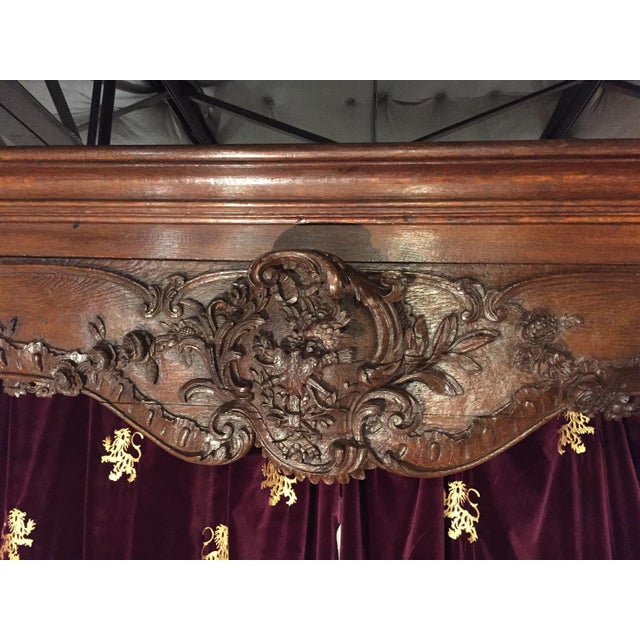 Antique French Boiserie Door Surround from the 1700s For Sale - Image 9 of 11