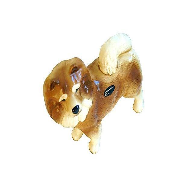 1960s English Coopercraft Husky Dog Figurine - Image 3 of 4