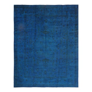 """Pasargad Ny Genuine Over-Dyed Oushak Hand-Knotted Rug - 9'2"""" X 11'11"""""""