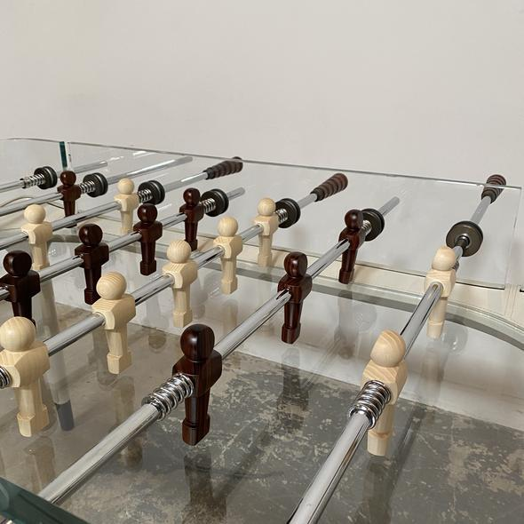 Mid 20th Century Vintage Centroid Richerche Giorgetti 90 Minuto Foosball Table For Sale - Image 5 of 13