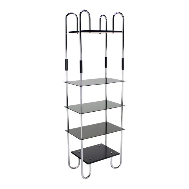 Mid-Century Bauhaus Style Etagere For Sale - Image 11 of 11