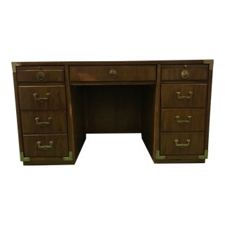 Thomasville Campaign Partner's Desk For Sale