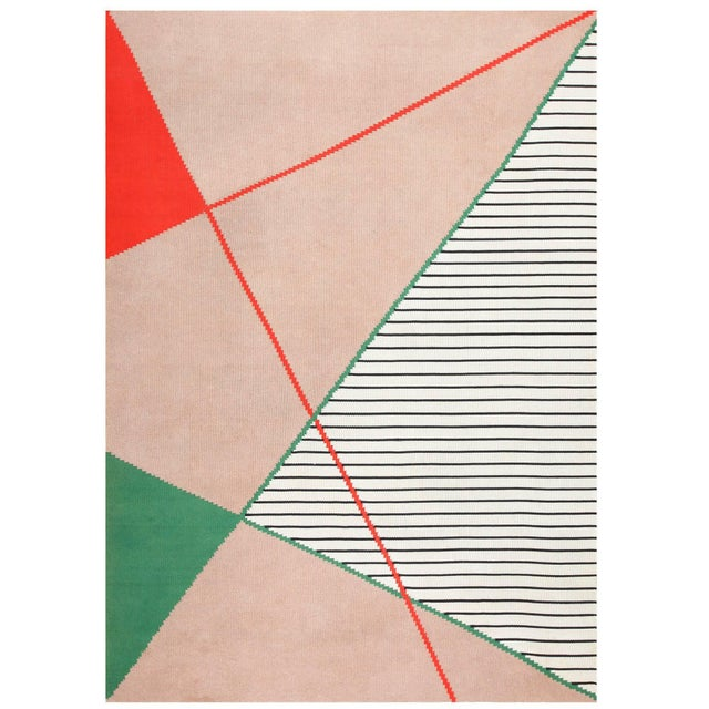 Antonin Kybal Vintage French Deco Rug - 9′6″ × 13′ For Sale - Image 10 of 10