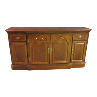 1960s Traditional Style Sideboard Cabinet For Sale
